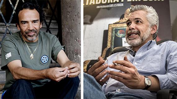 Damián Alcázar y Luis Estrada
