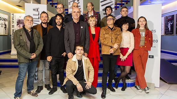 Organizadores de Sevilla y cineastas españoles