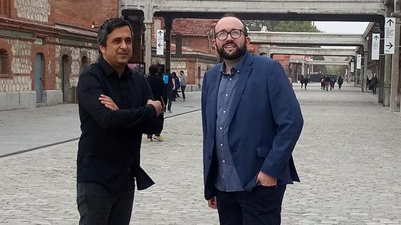 El programador y el director del Festival de Gijón, en Madrid