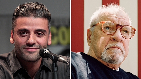 Oscar Isaac y Paul Schrader