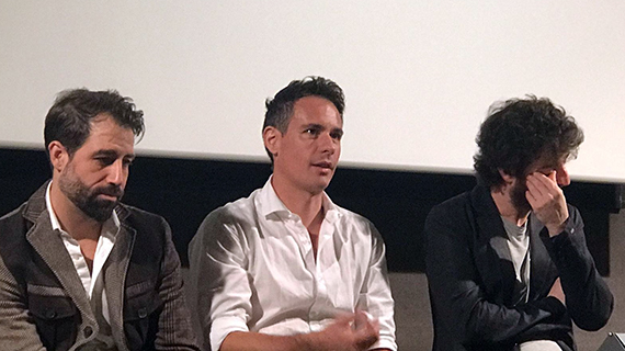 David Sousa con sus actores