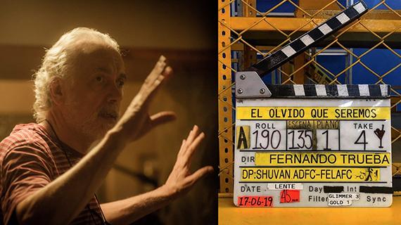 Trueba filmó su primera película en Colombia