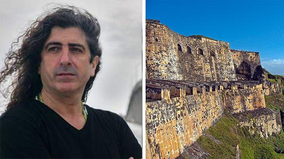 Lino Vilaplanta y el castillo de El Morro en San Juan
