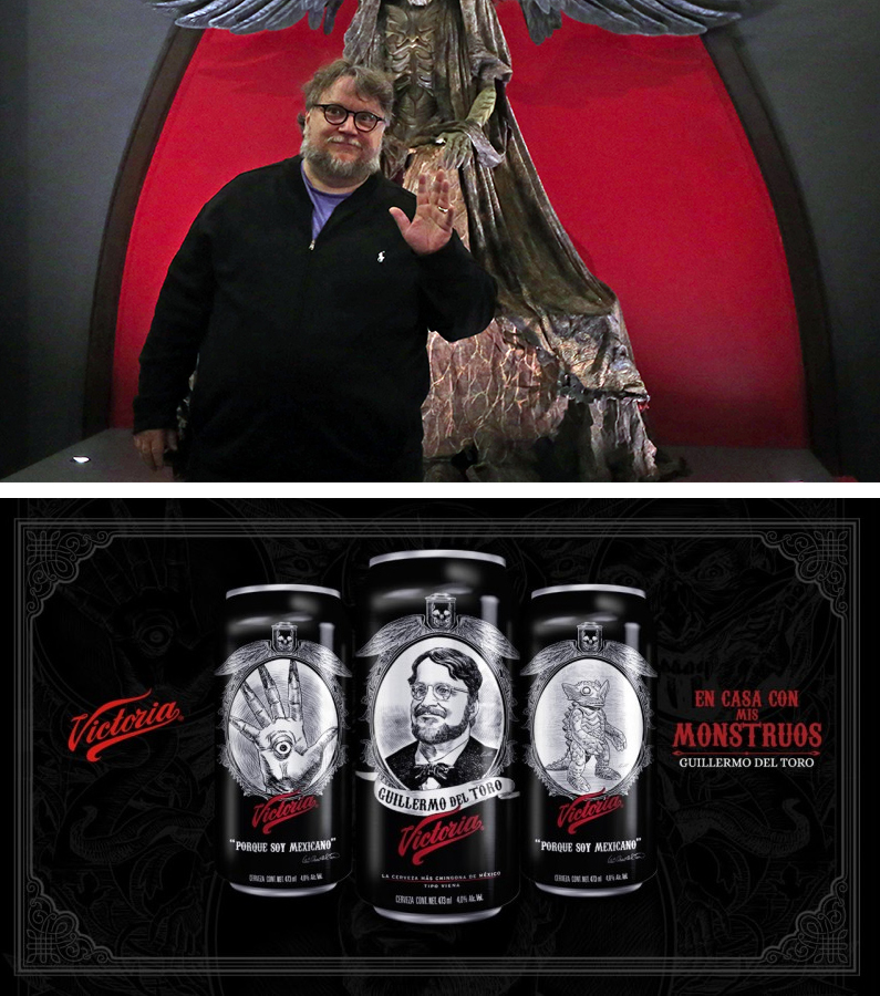 La cerveza Victoria con la iconografía de Del Toro