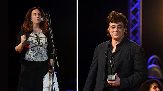 Paula Hernández y Benicio del Toro