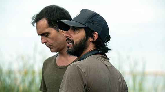 Pedro Alonso, con Marc Vigil
