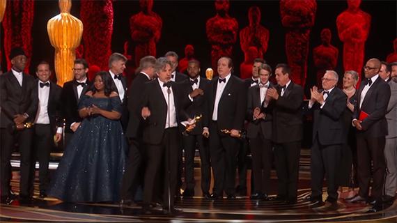 Un instante de los Oscars de este año