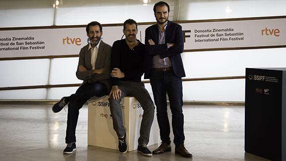 """Los tres directores de """"La trinchera infinita"""""""