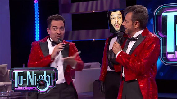 """Tu-Night con Omar Chaparro"", con Eugenio Derbez como invitado"