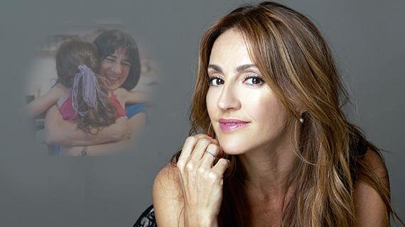 Eleonora Wexler y la madre real a la que da vida