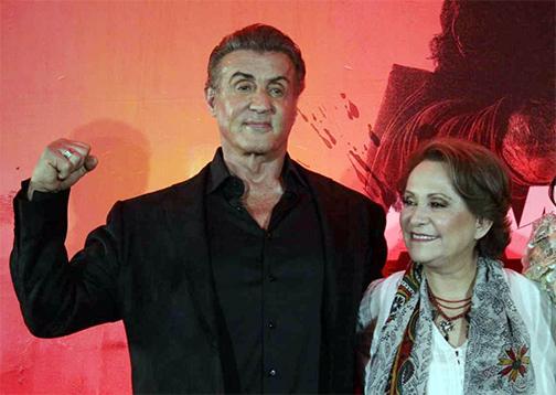 Barraza, con Stallone