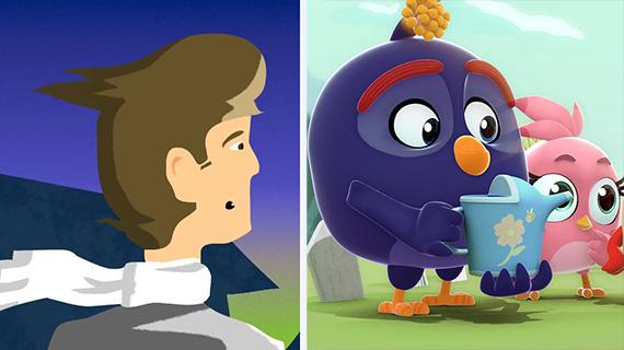 """""""El lago del olvido"""" y """"Angry Birds Bubble Trouble"""""""