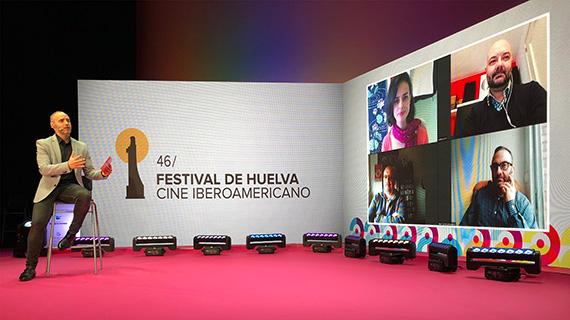 Presentación en el Festival de Huelva