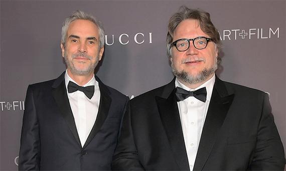 Cuarón y Del Toro