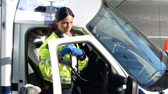 """Eiza González, en """"Ambulance"""""""