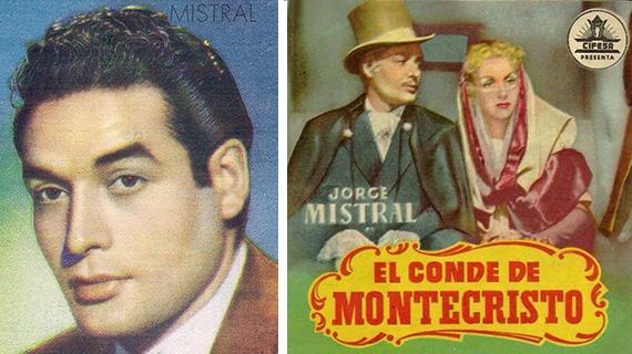 Jorge Mistral y una de sus películas