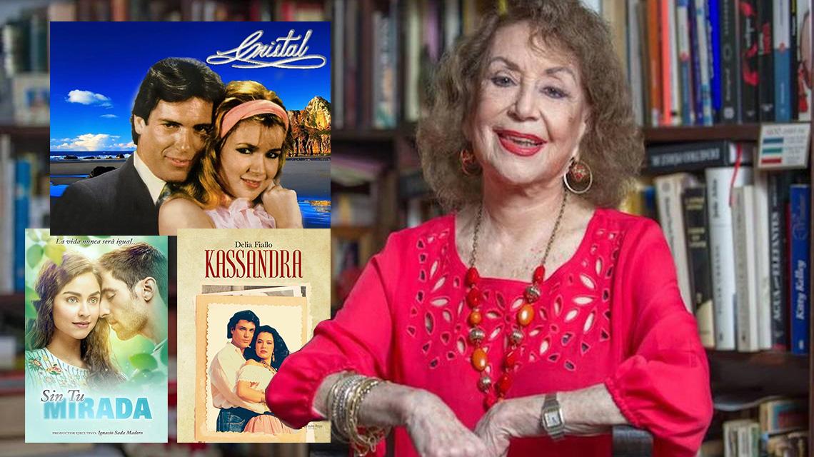 Delia Fiallo y algunas de sus obras