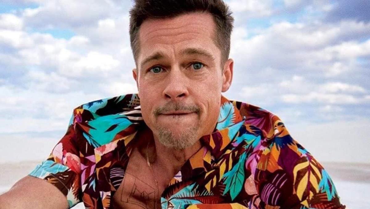 Brad Pitt, en su previa visita a Dominicana, en abril