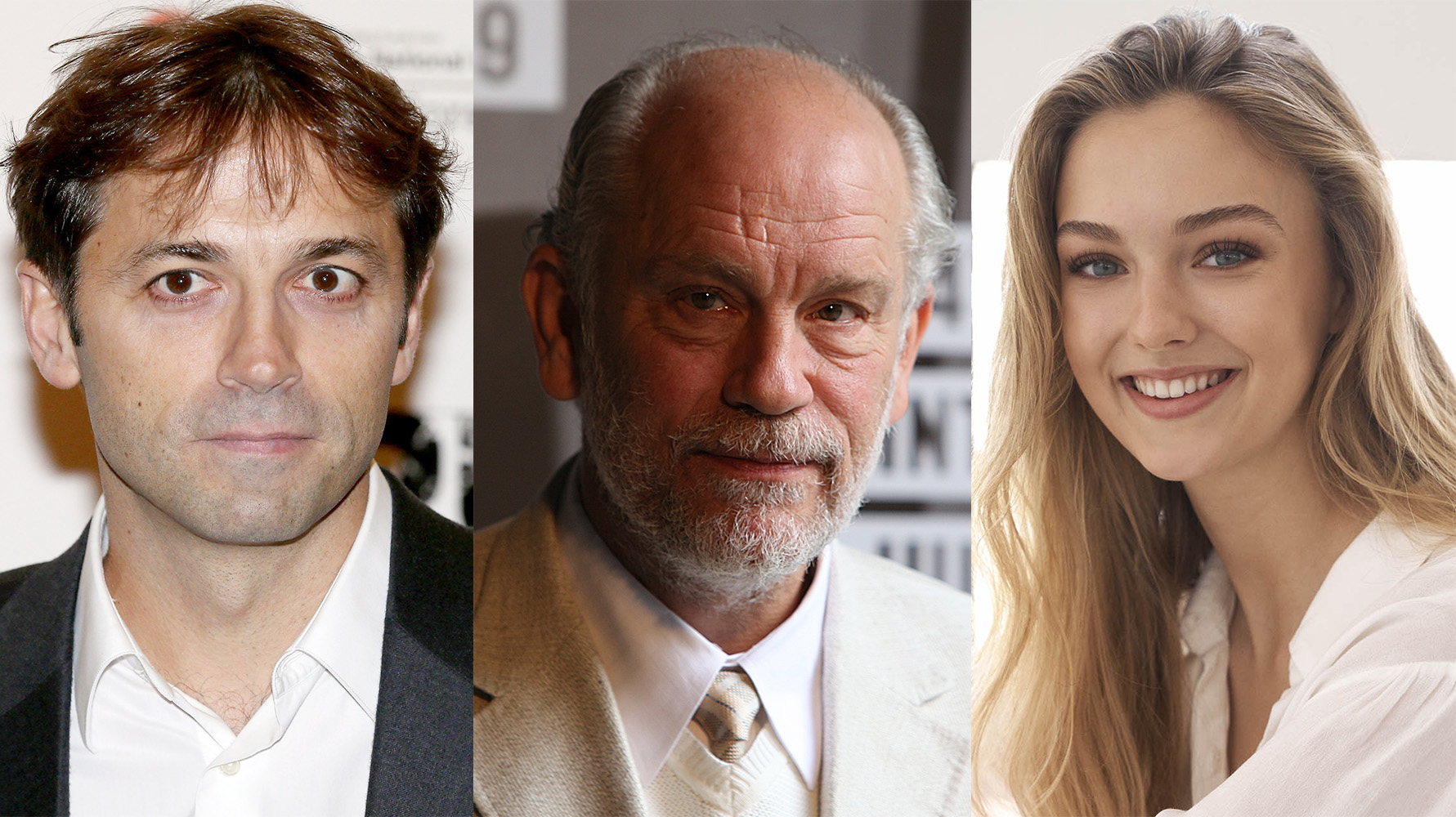 Luis Prieto, John Malkovich y Lilly Krug