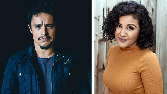 Jesse García y Annie González