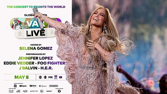 J-Lo participó en el Global Citizen Vax Live