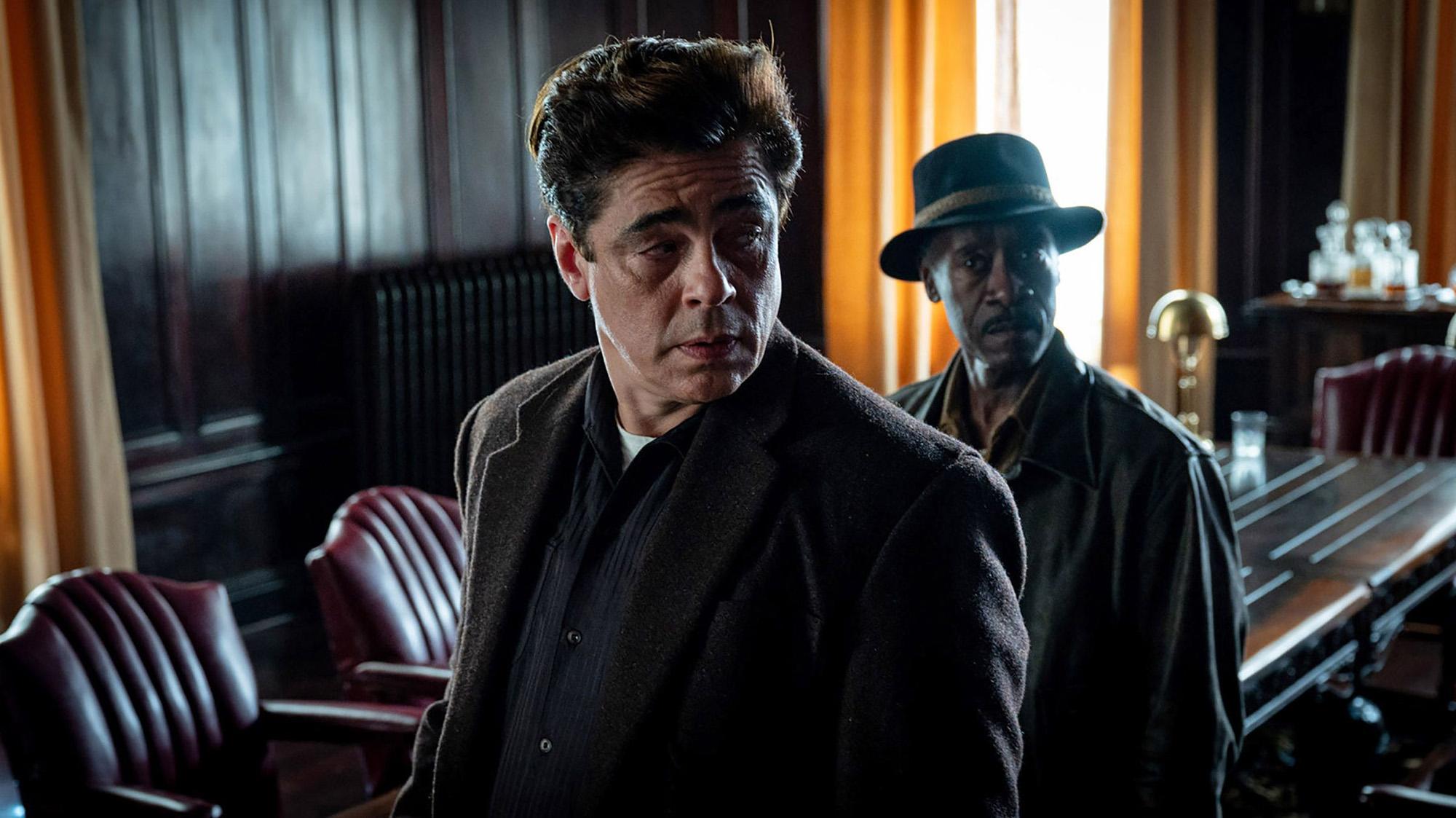 """Benicio del Toro, en """"Ni un paso en falso / No Sudden Move"""""""