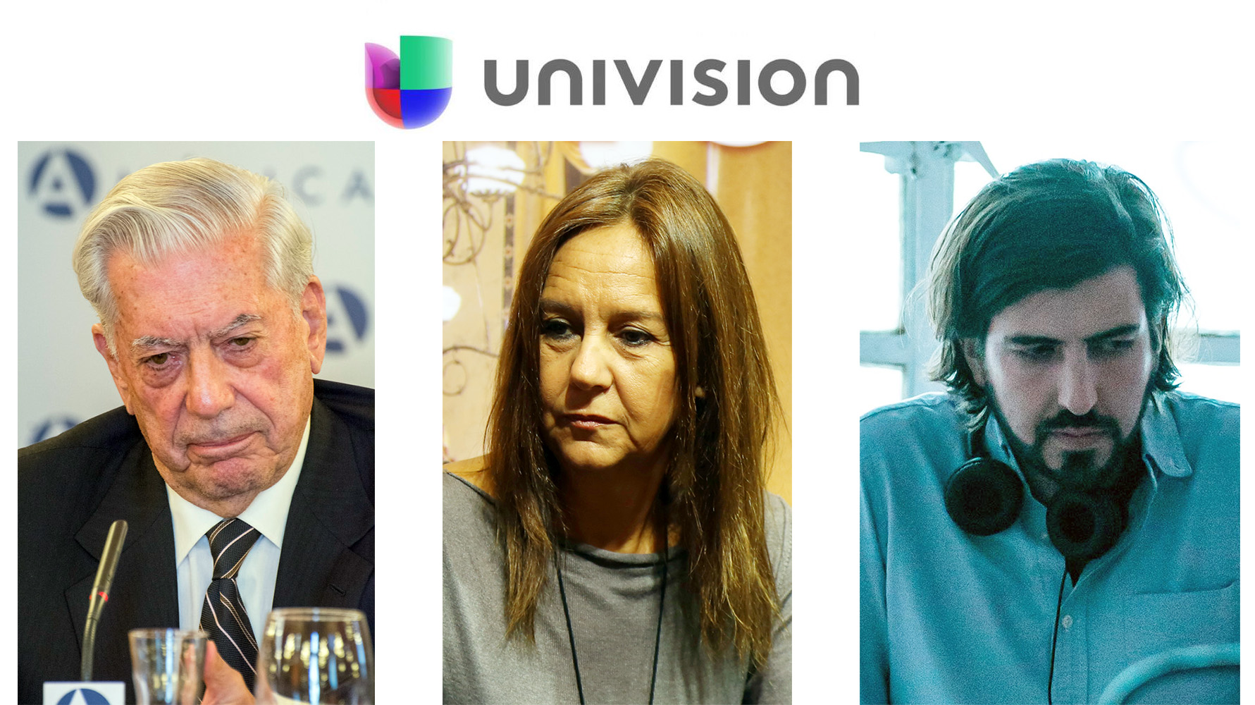 Vargas Llosa, María Dueñas y Santiago Limón