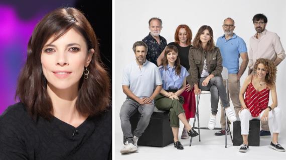 """Verdú y el elenco y directores de """"Ana Tramel. El juego"""""""