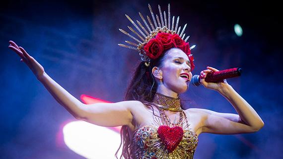 Natalia Oreiro, en Rusia