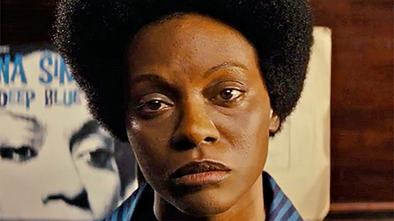 Saldaña, como Nina Simone