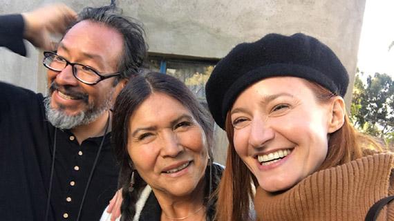 Okie Cardenas, Luzmila Carpio y Victoria Ric