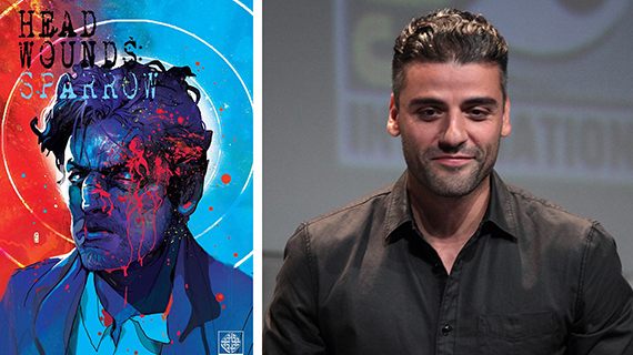 Oscar Isaac y su comic