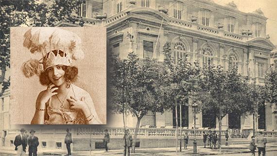 Concha Robles y el teatro Cervantes de Almería