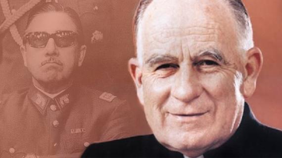 El cardenal Silva Henríquez y Pinochet