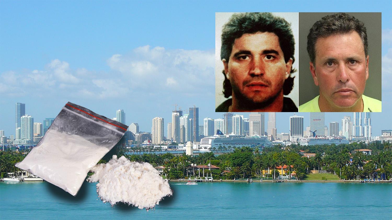 """Dos imágenes de Augusto """"Willie"""" Falcón, el rey del """"Miami vice"""""""