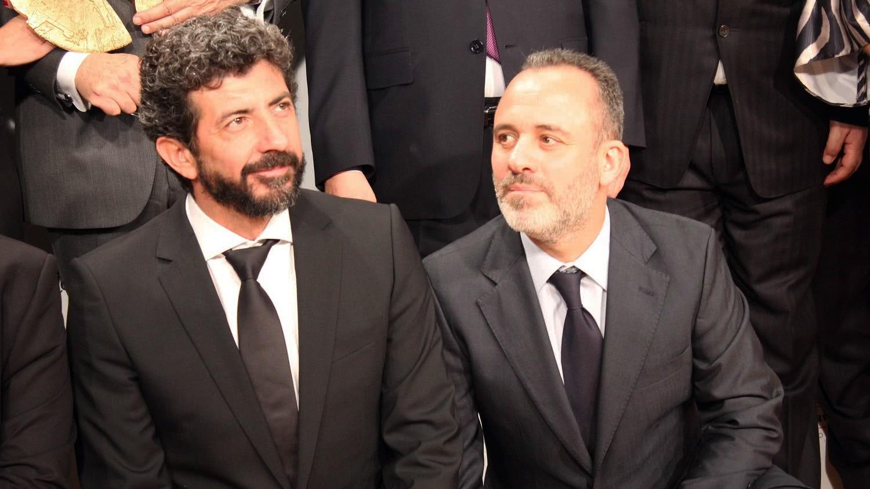 Alberto Rodríguez y Javier Gutiérrez