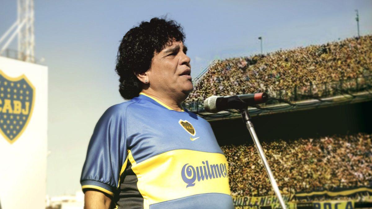 """""""Maradona, sueño bendito"""""""