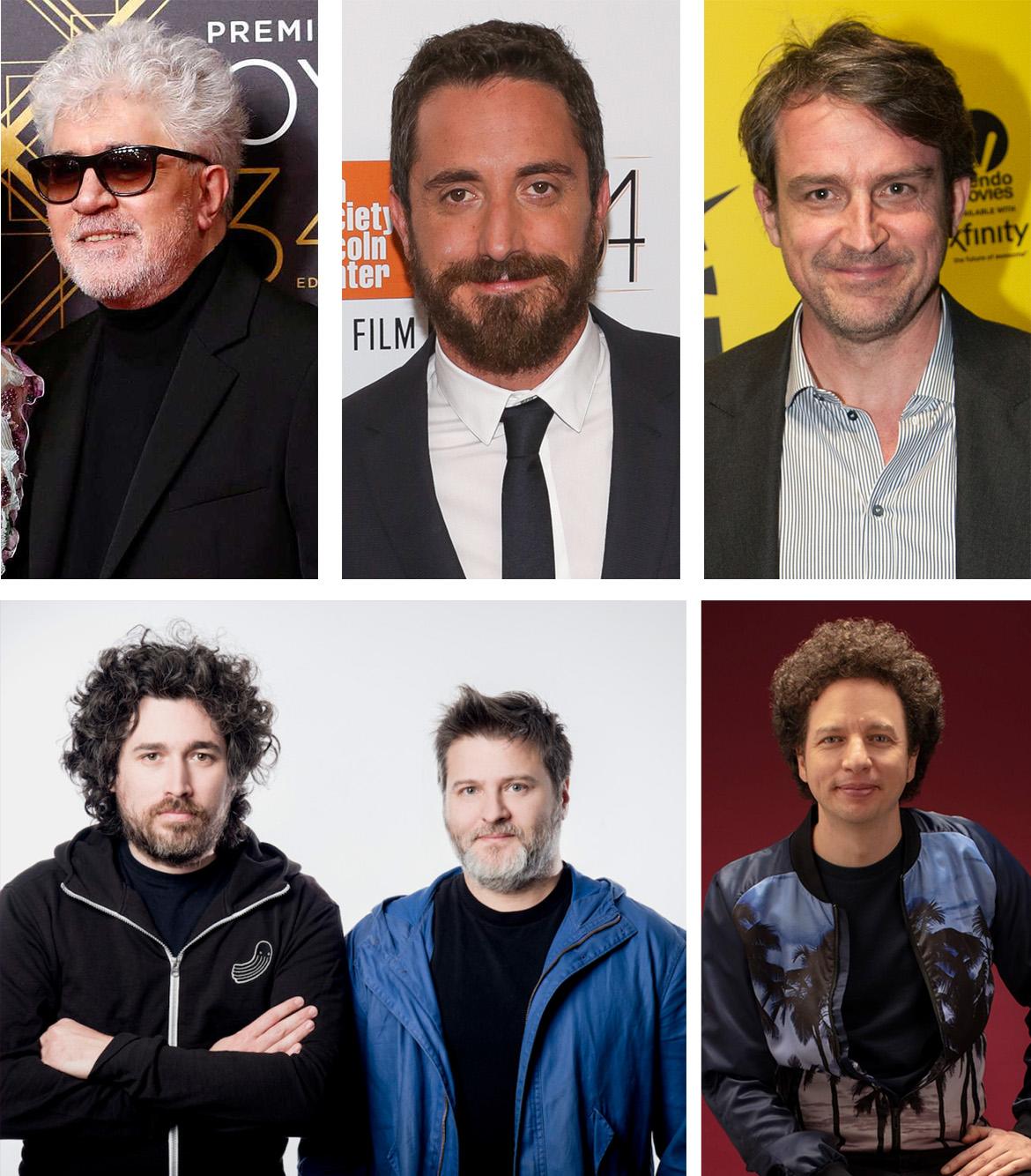 Almodóvar, Larraín, Vigas, Cohn, Duprat y Franco