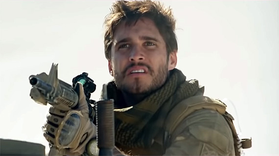 "Diego Boneta, en ""Monster Hunter"""