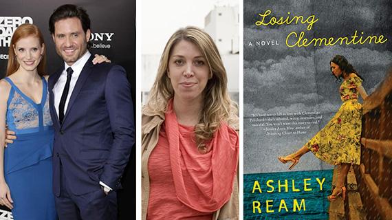 Ramírez, Chastain, Puenzo y el libro que adaptarán