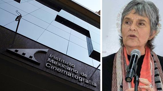 El IMCINE y su actual responsable, María Novaro