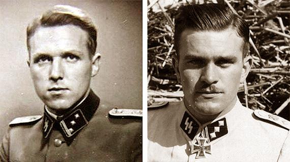 Los criminales de guerra nazis Aribert Heim y Antor Galler