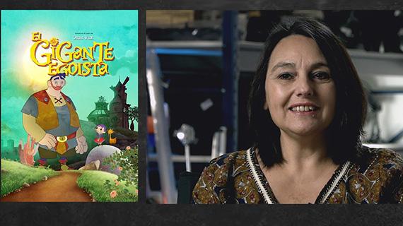"""""""El gigante egoísta"""" y Liliana Romero"""