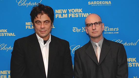 Benicio del Toro con Steven Soderbergh