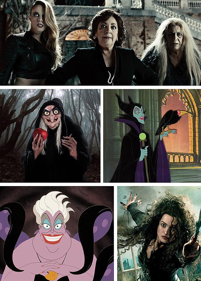 Algunas de las brujas más icónicas de la pantalla