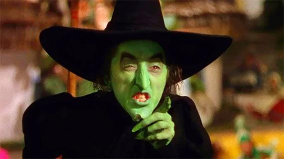 """La bruja de """"El mago de Oz"""""""