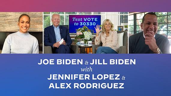 Jennifer López apoya a Joe Biden