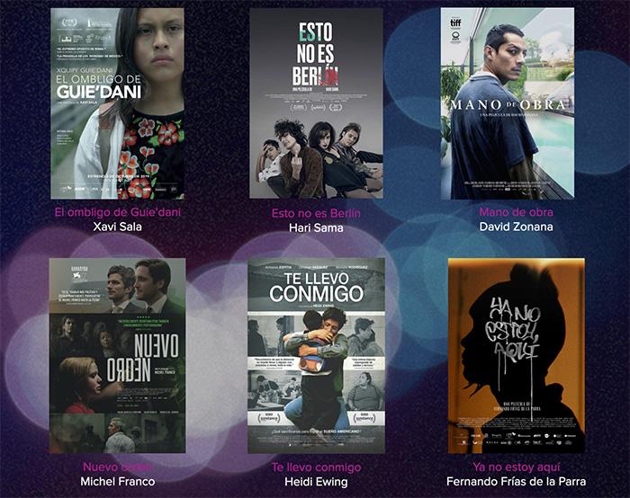Las seis películas sobre las que decidirá la AMACC