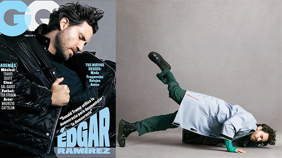 Edgar Ramírez en la revista GQ