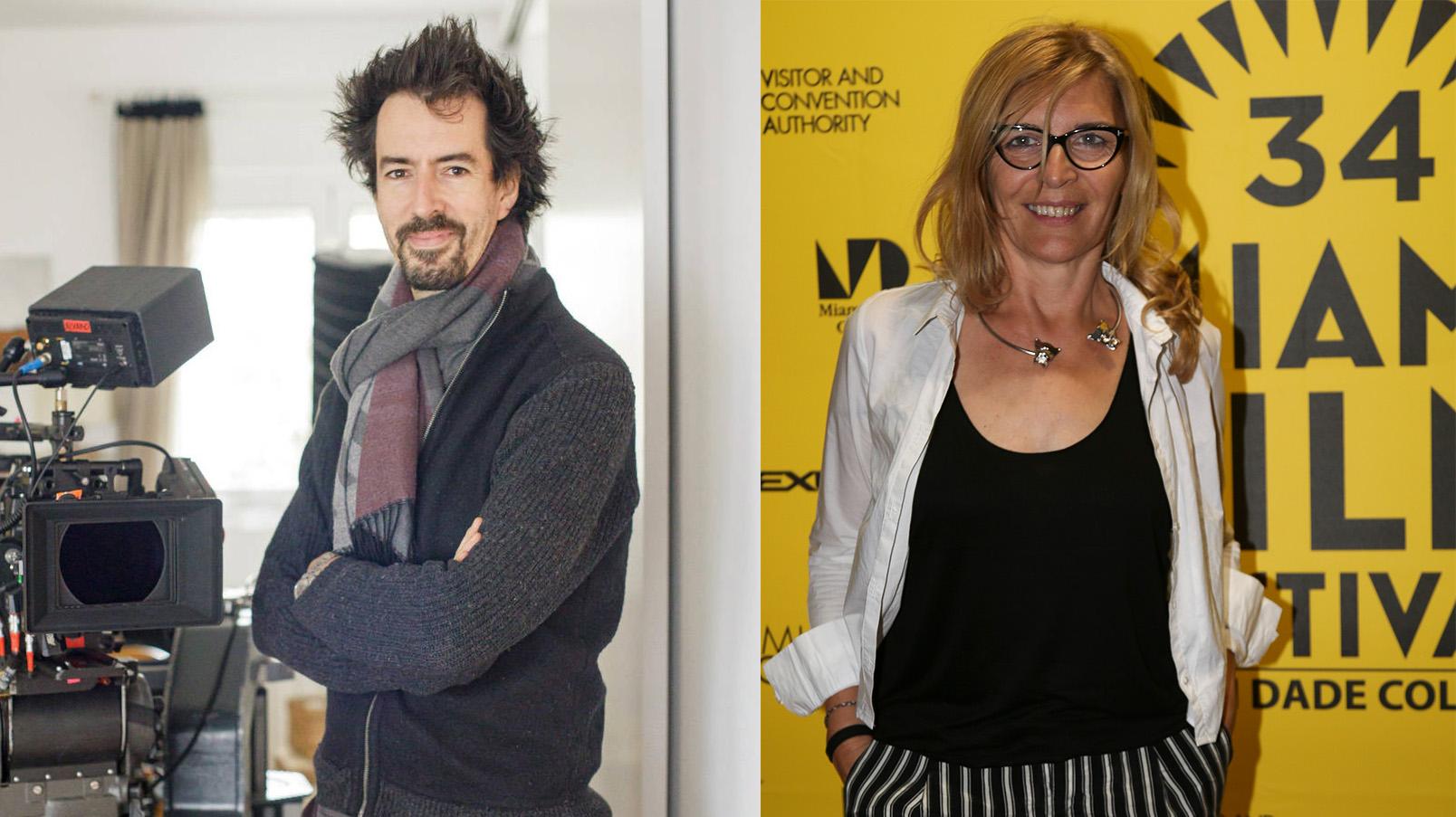 Félix Viscarret y María Ripoll